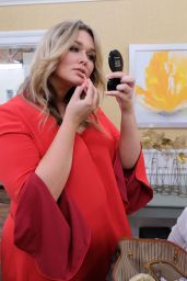 Hunter McGrady on Home and Family Talk Show in Los Angeles 3/8/ 2017