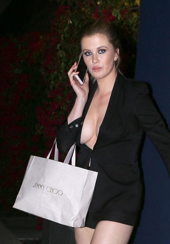 Ireland Baldwin - Leaves the Power Stylists Dinner in West Hollywood 3/14/ 2017