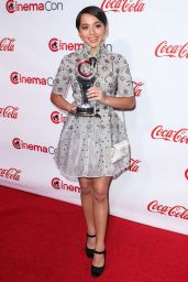 Isabela Moner - CinemaCon Big Screen Achievement Awards at Caesars Palace in Las Vegas 3/30/2017