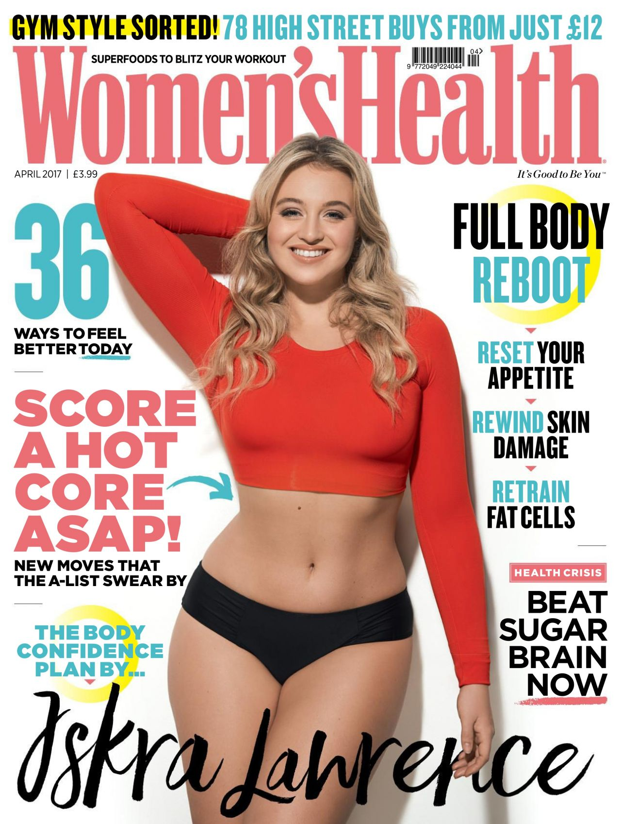 Iskra Lawrence Women S Health Uk April 2017 Issue