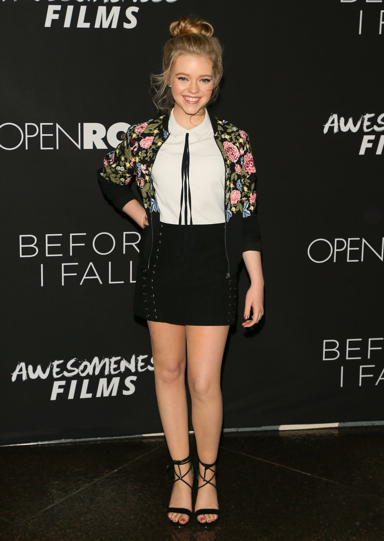 Jade Pettyjohn At Before I Fall Premiere In Los Angeles