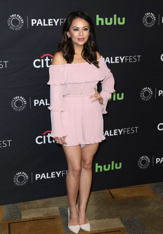 "Janel Parrish - ""Pretty Little Liars"" Presentation at Paleyfest in LA 3/25/ 2017"