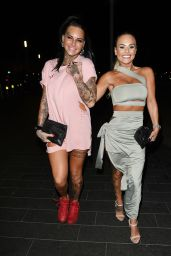 Jemma Lucy & Chantelle Connelly at Playground in Liverpool, UK 3/11/ 2017