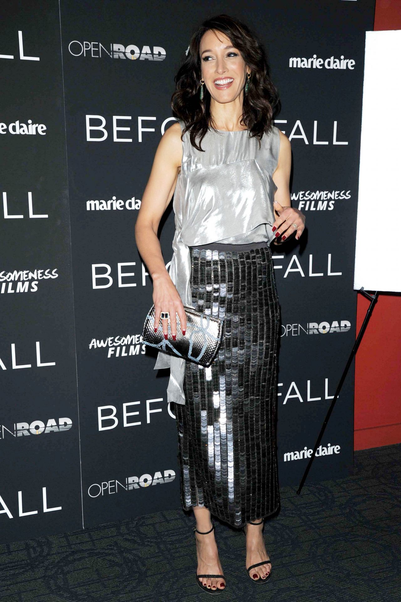Jennifer Beals At Before I Fall Special Screeing In Nyc