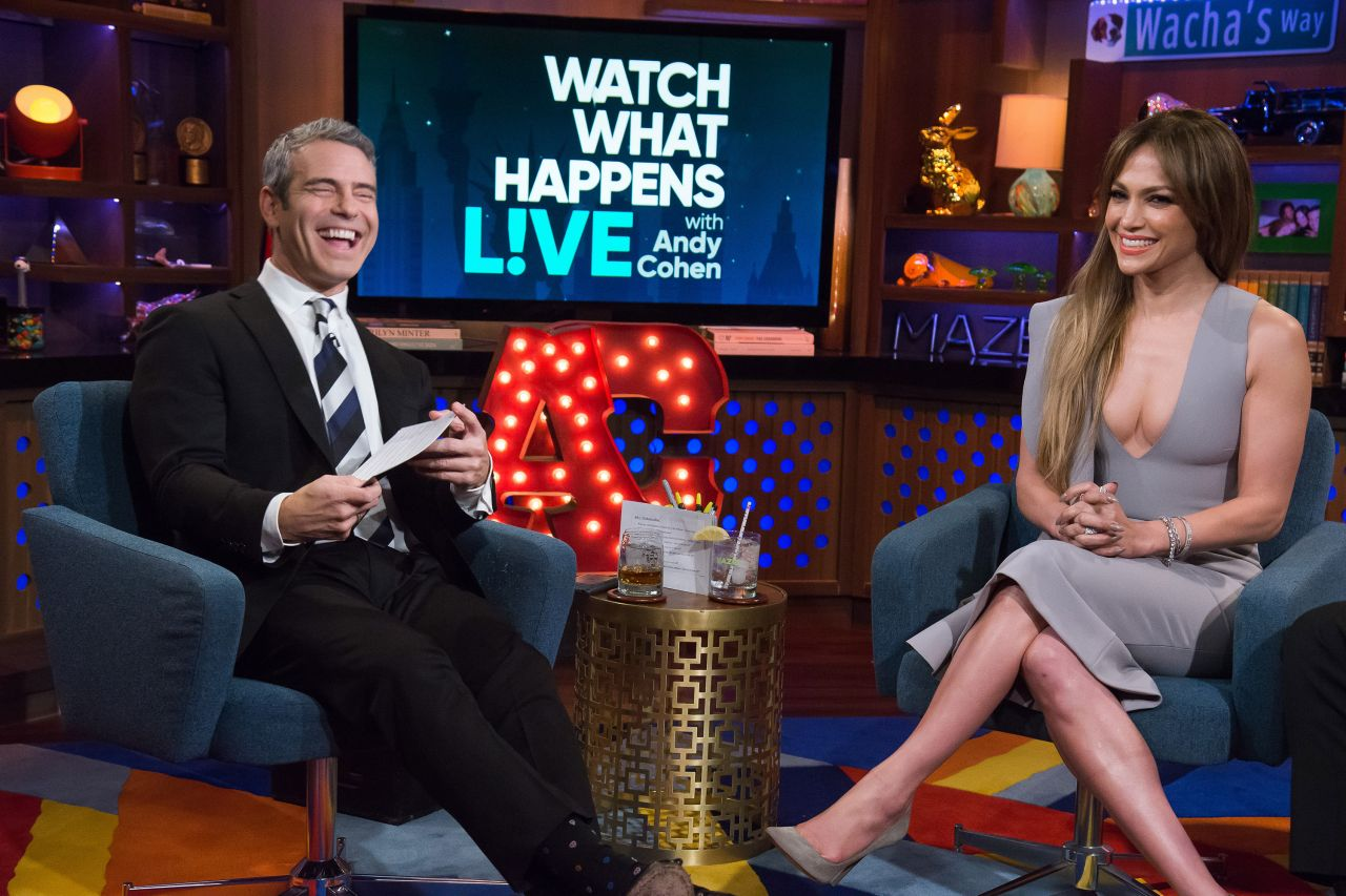 Jennifer Lopez Appears On Watch What Happens Live With