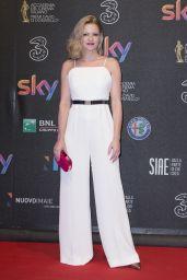 Jennifer Urlic on Red Carpet - 2017 David di Donatello Awards in Rome