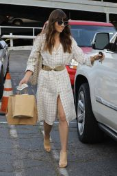 Jessica Biel Chic Street Style - Leaving Au Fudge in West Hollywood 3/14/ 2017