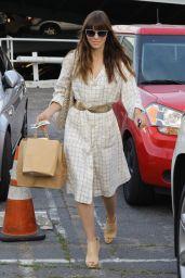 Jessica Biel Chic Street Style - Leaving Au Fudge in West Hollywood 3/14/ 2017