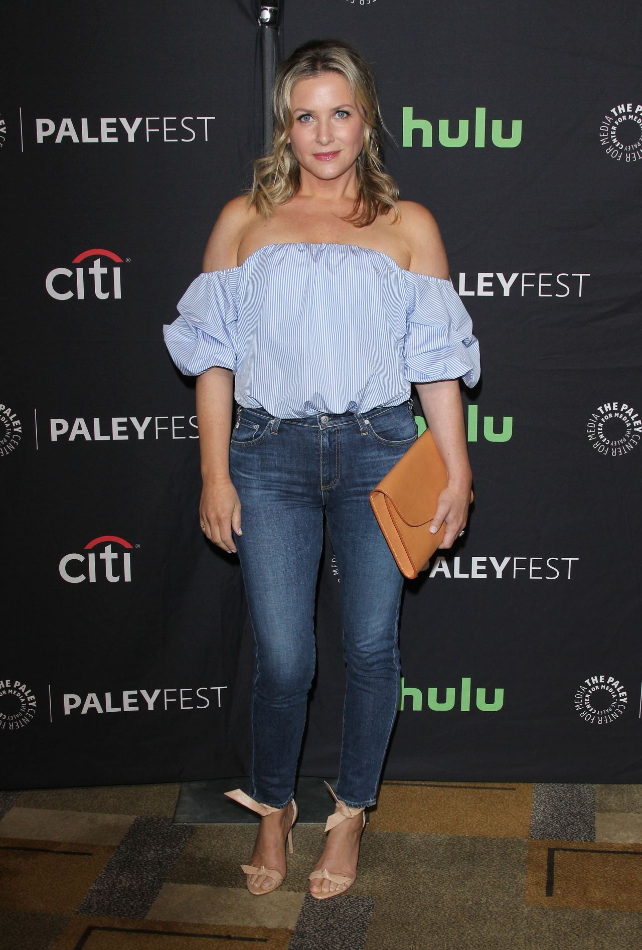 Jessica Capshaw At Media S 34th Annual Paleyfest Los