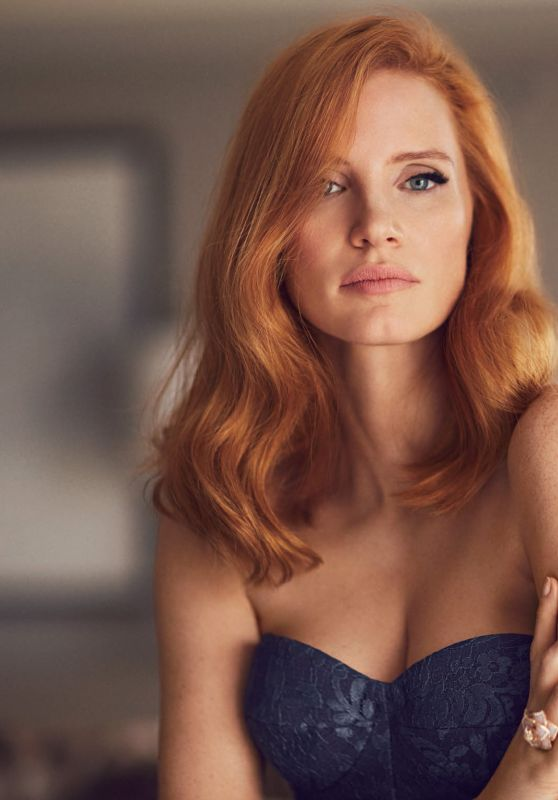 Jessica Chastain - American Way March 2017 Issue