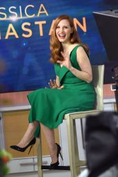 Jessica Chastain Appears on the Today Show 03/20/ 2017