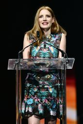 Jessica Chastain – Big Screen Achievement Awards at CinemaCon, Las Vegas 3/30/2017