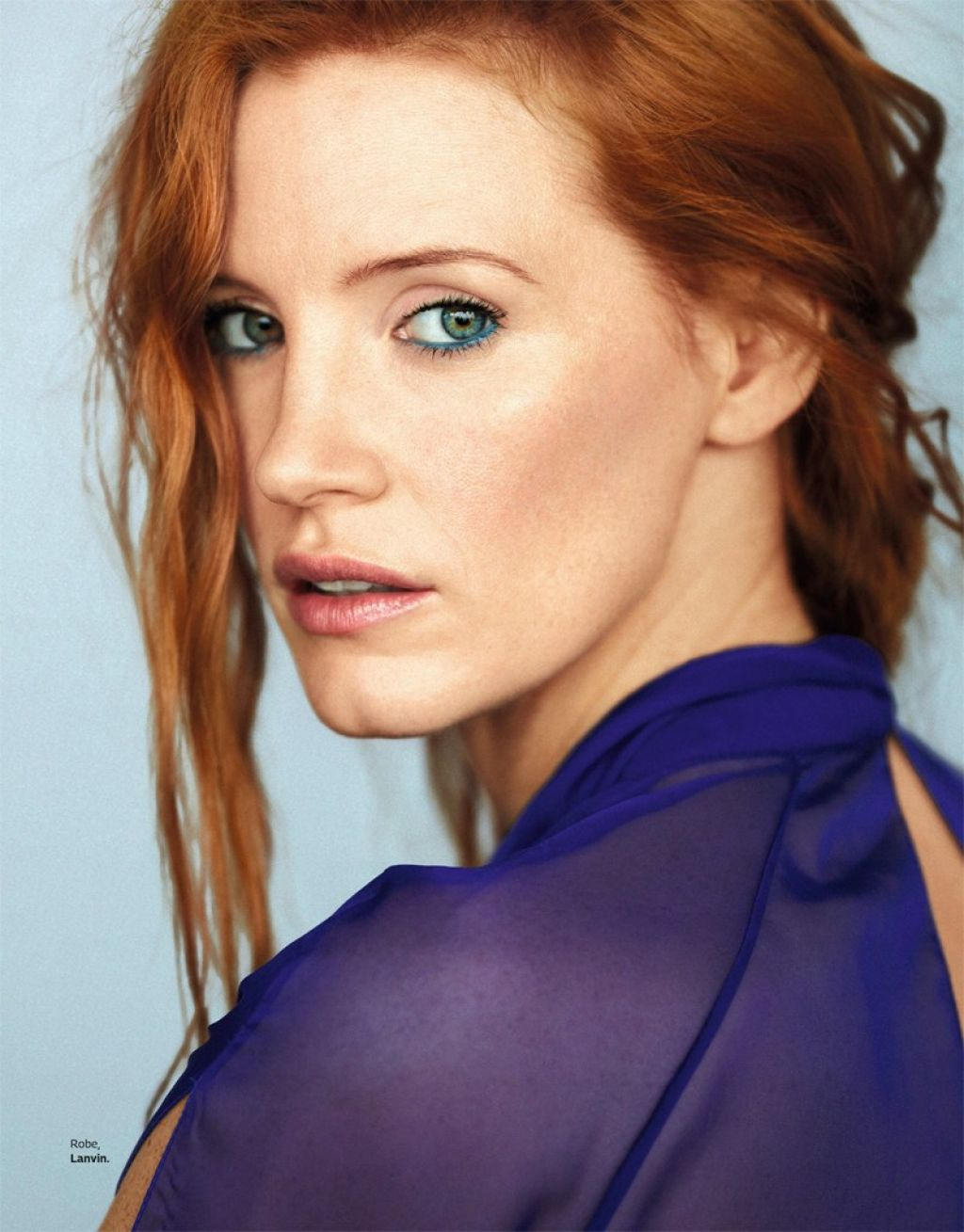 Jessica Chastain - Grazia Magazine France February 2017 ... Jessica Chastain