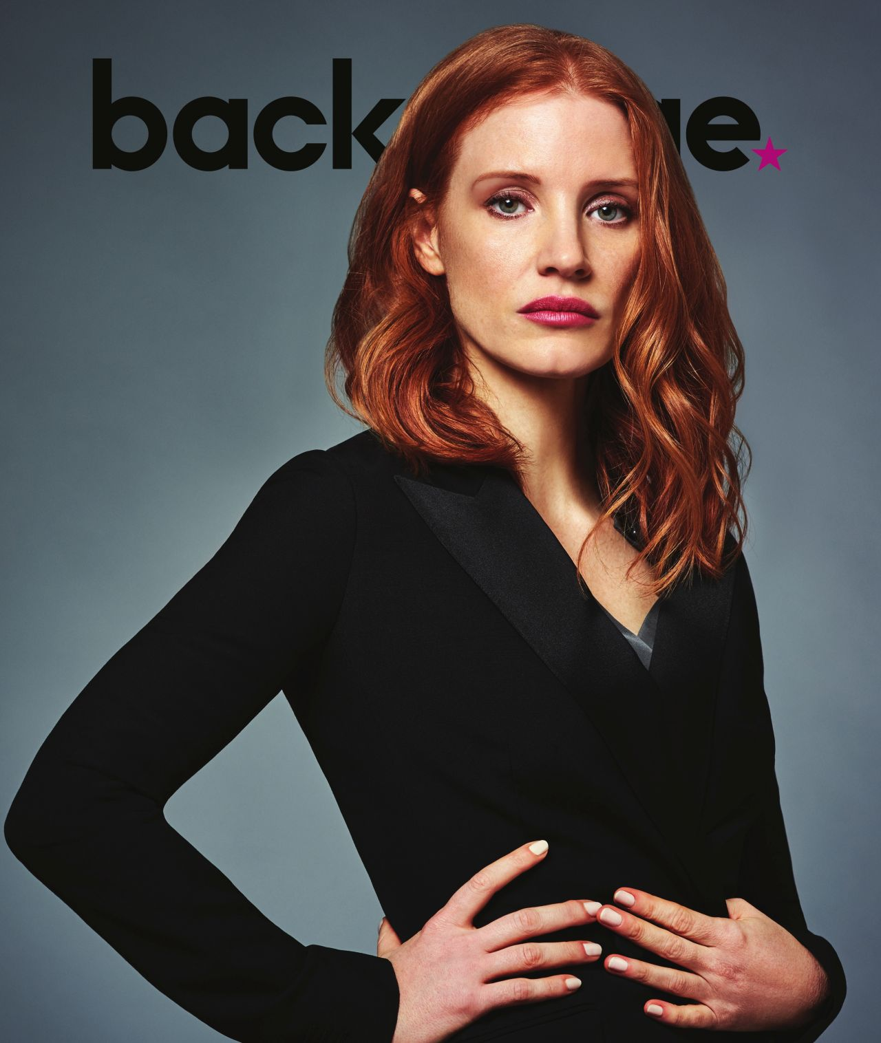 Jessica Chastain - Photoshoot for Backstage Magazine 3/30/2017 Jessica Chastain