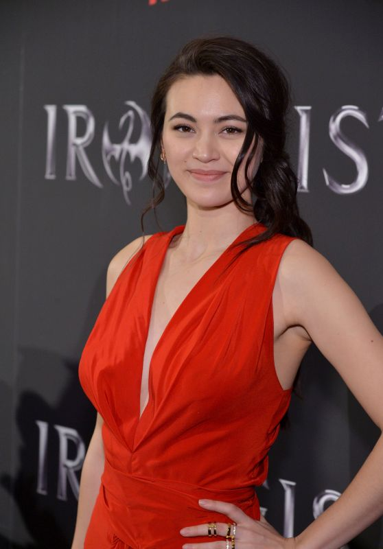 Jessica Henwick – Iron Fist TV Series Premiere in NYC 3/15/ 2017