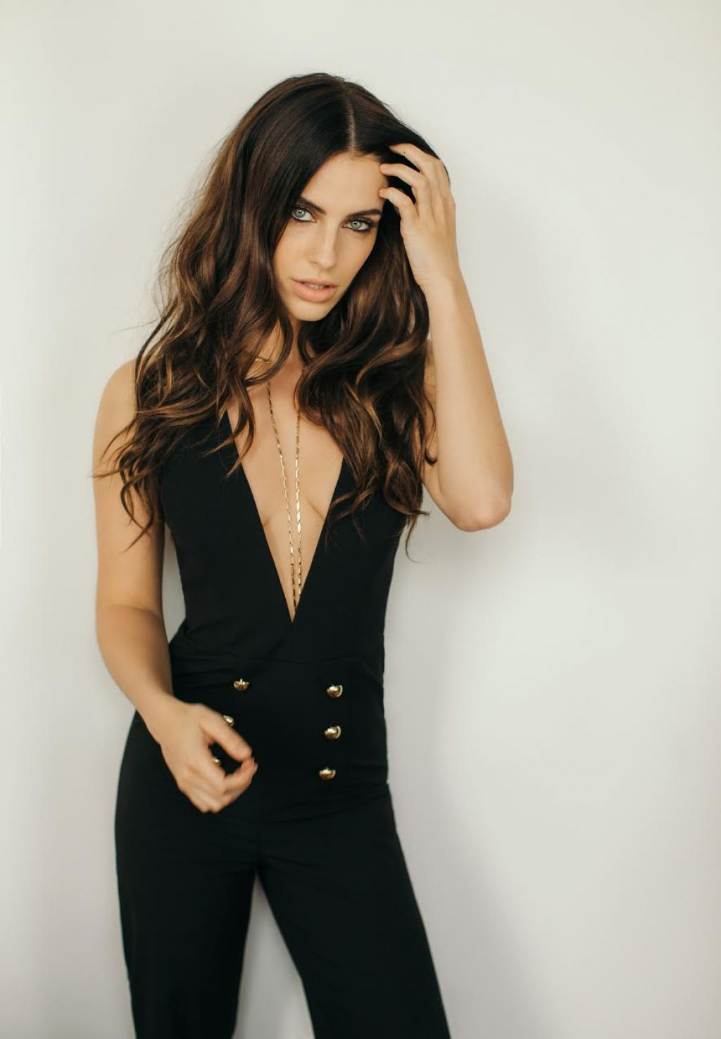 Jessica Lowndes - The Jumpsuit Photoshoot For Her Blog, March 2017