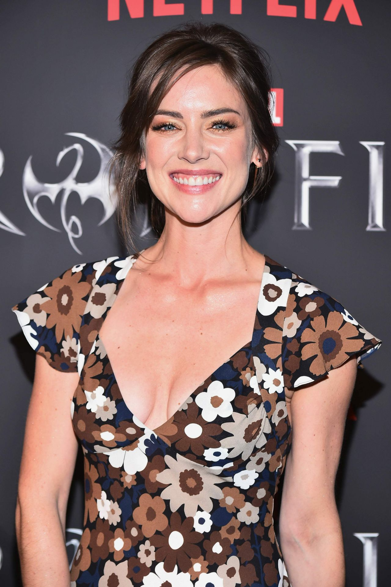 Jessica Stroup Iron Fist Tv Series Premiere In New