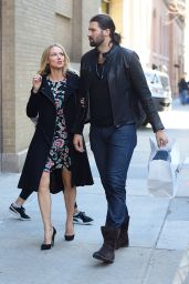 Jewel Kilcher - Out in Manhattan with Charlie Whitehurst 3/29/2017