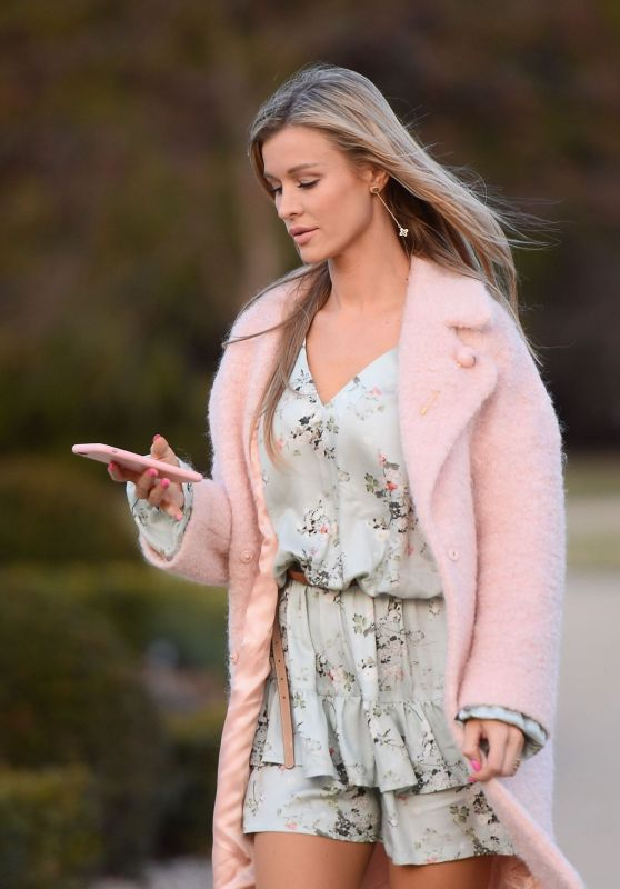 Joanna Krupa - Out at Lazienki The Royal Park in Warsaw 3/5/ 2017