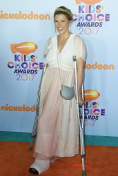 Jodie Sweetin – Nickelodeon's Kids' Choice Awards in Los Angeles 03/11/ 2017