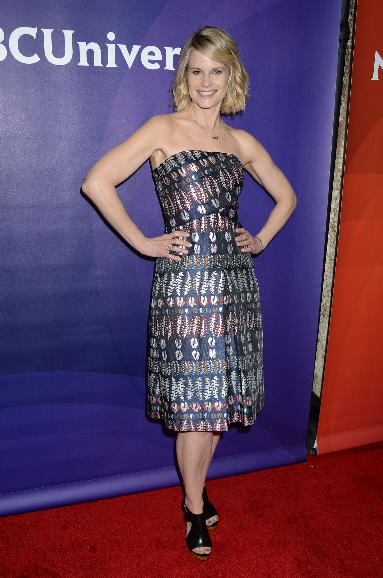 Joelle Carter Nbcuniversal Summer Press Day In Beverly
