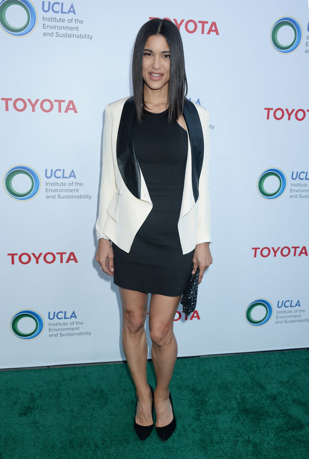 Julia Jones - UCLA Environment and Sustainability Gala in Los Angeles 3/13/ 2017