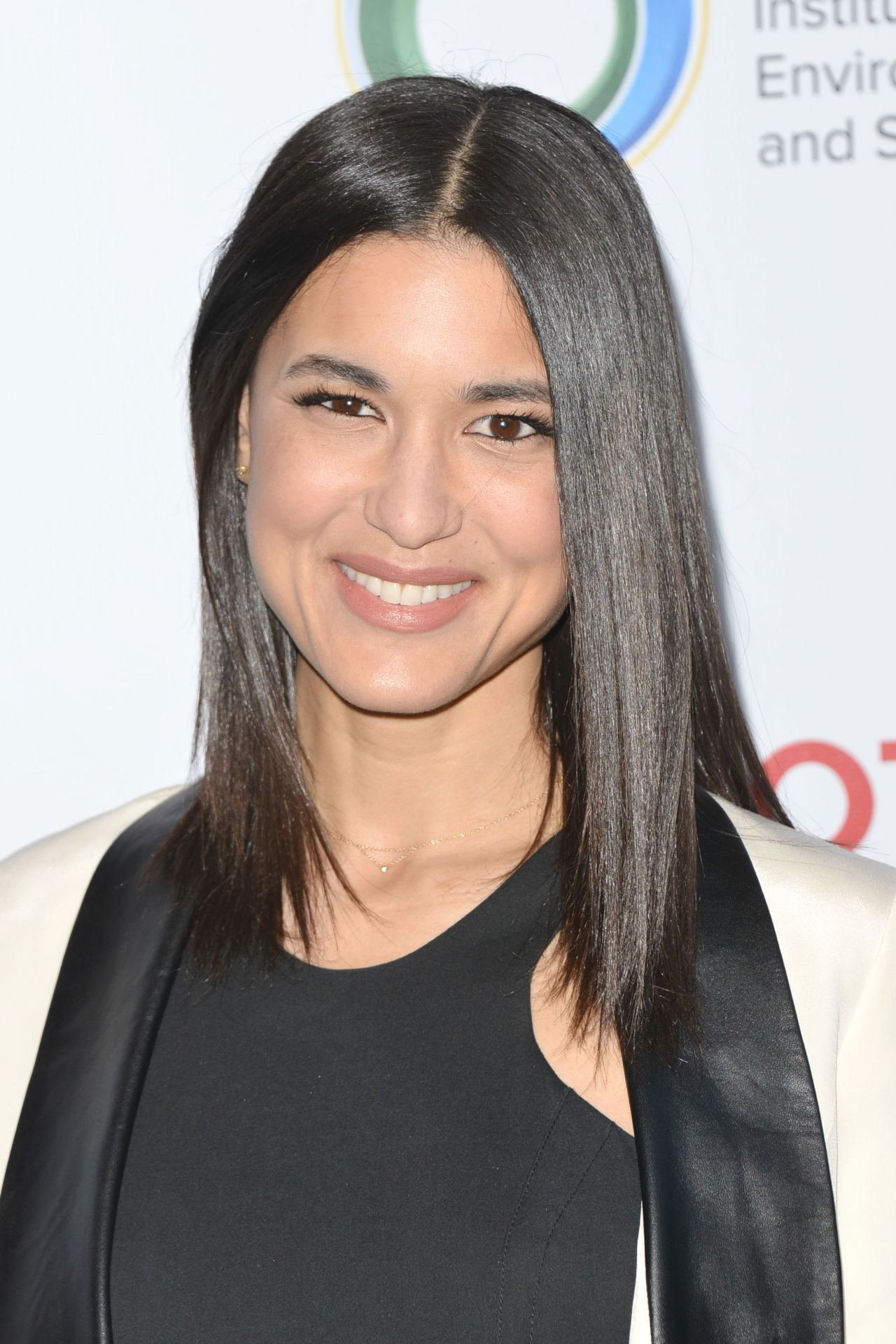 Julia Jones At Burberry Body Launch In Beverly Hills: UCLA Environment And Sustainability Gala In