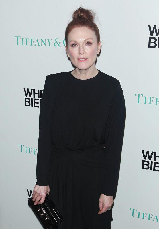 Julianne Moore – Whitney Biennial Presented by Tiffany & Co in NYC 3/15/ 2017