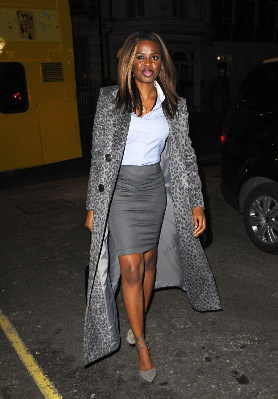June Sarpong at Women's University Club in London 3/10/ 2017