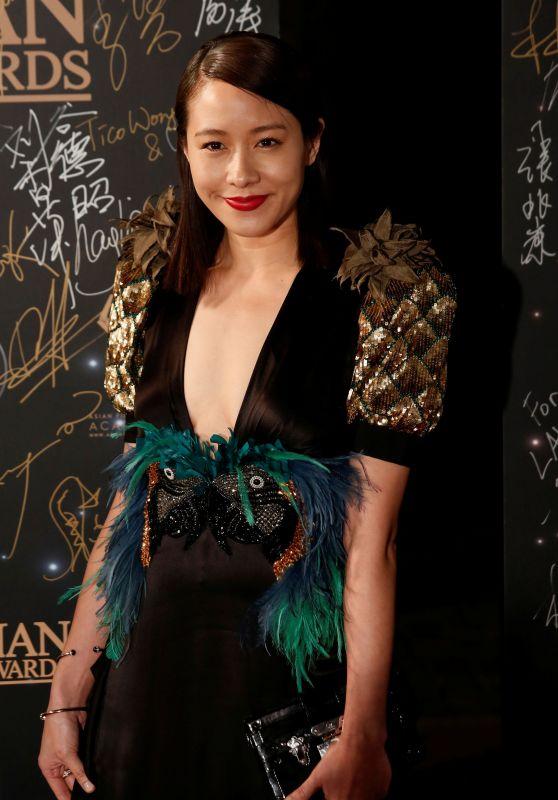 Karena Lam – Asian Film Awards in Hong Kong 3/21/ 2017
