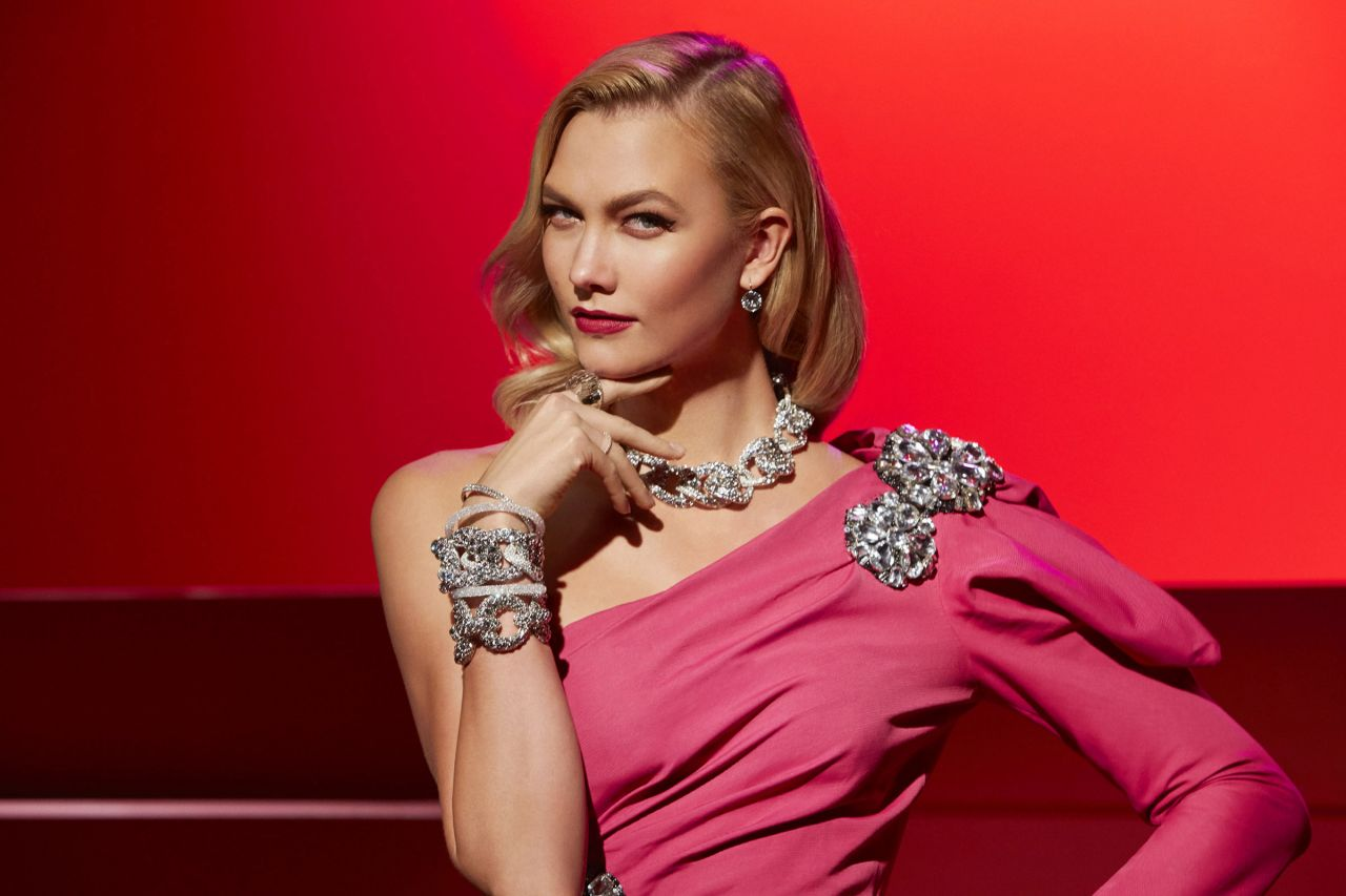 Karlie Kloss Channels Hollywood Icons For Swarovski 2017