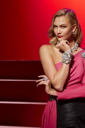 Karlie Kloss - Channels Hollywood Icons for Swarovski 2017
