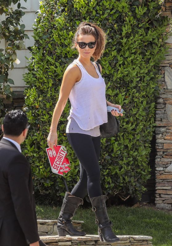 Kate Beckinsale - Leaving Her Home in Pacific Palisades in LA 3/17/ 2017