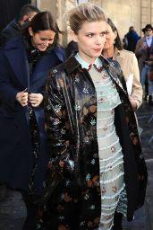Kate Mara at Paris Fashion Week – Valentino Show 3/5/ 2017