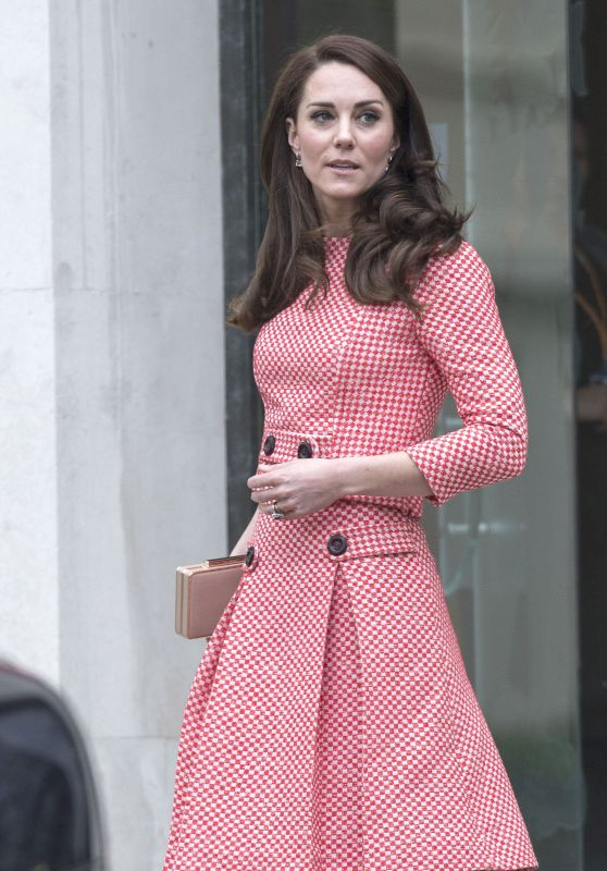 """Kate Middleton - Launch of the """"Out of the Blue"""" Film Series in London 3/23/ 2017"""