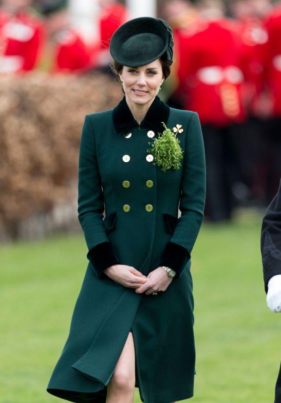 Kate Middleton - The Annual Irish Guards St Patrick