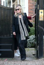 Kate Moss - Leaves Her Home in North London 3/13/ 2017