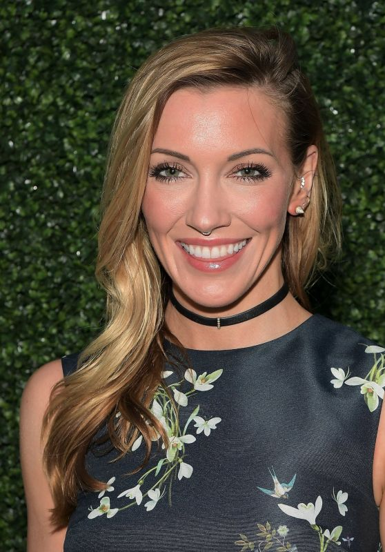 Katie Cassidy at Ted Baker London Spring/ Summer Launch Dinner in West Hollywood 3/16/ 2017