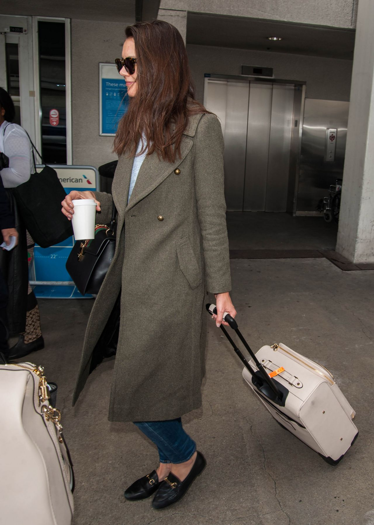 Katie Holmes At Lax Airport In Los Angeles 3 5 2017