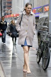 Katie Holmes is Stylish - Out in New York City 3/28/2017
