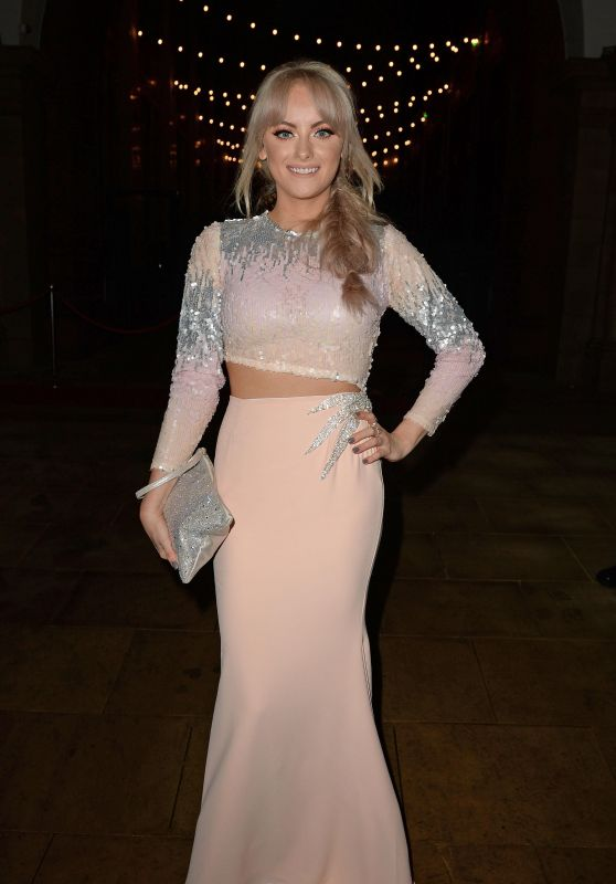 Katie McGlynn - Christie Charity Ball in Manchester 3/18/ 2017