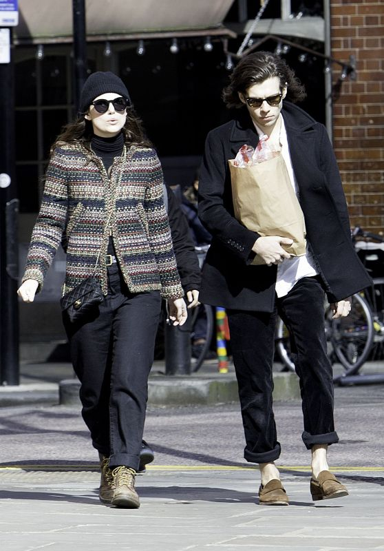 Keira Knightley and Husband James Righton - Out in East London 3/25/ 2017
