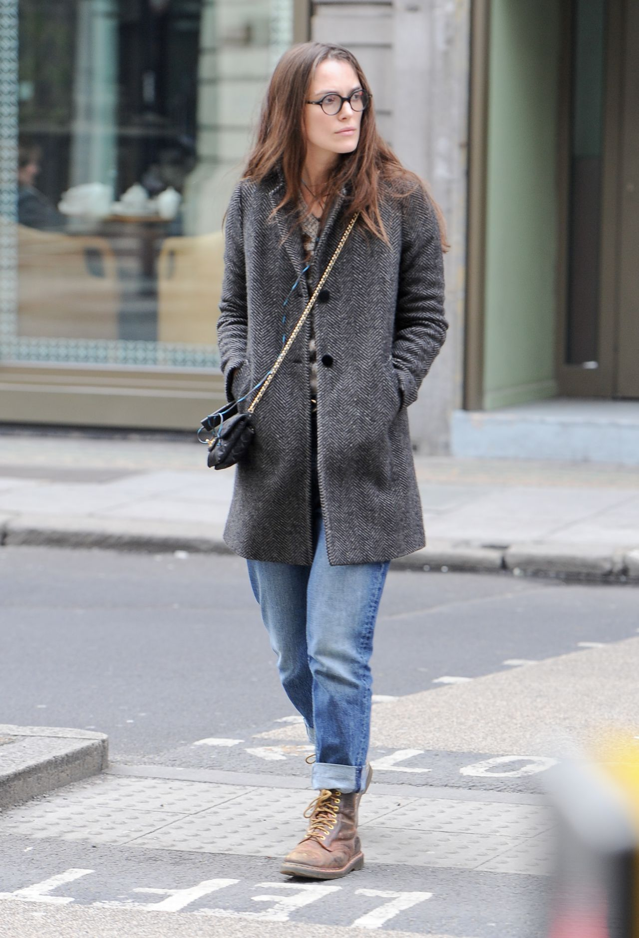 Keira Knightley Running Errands In Central London 323 2017