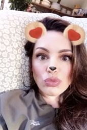 Kelly Brook – Facebook, Snapchat and Instagram Photos 3/28/2017