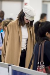 Kendall Jenner - Catches a Early Flight Out in Miami 3/13/ 2017