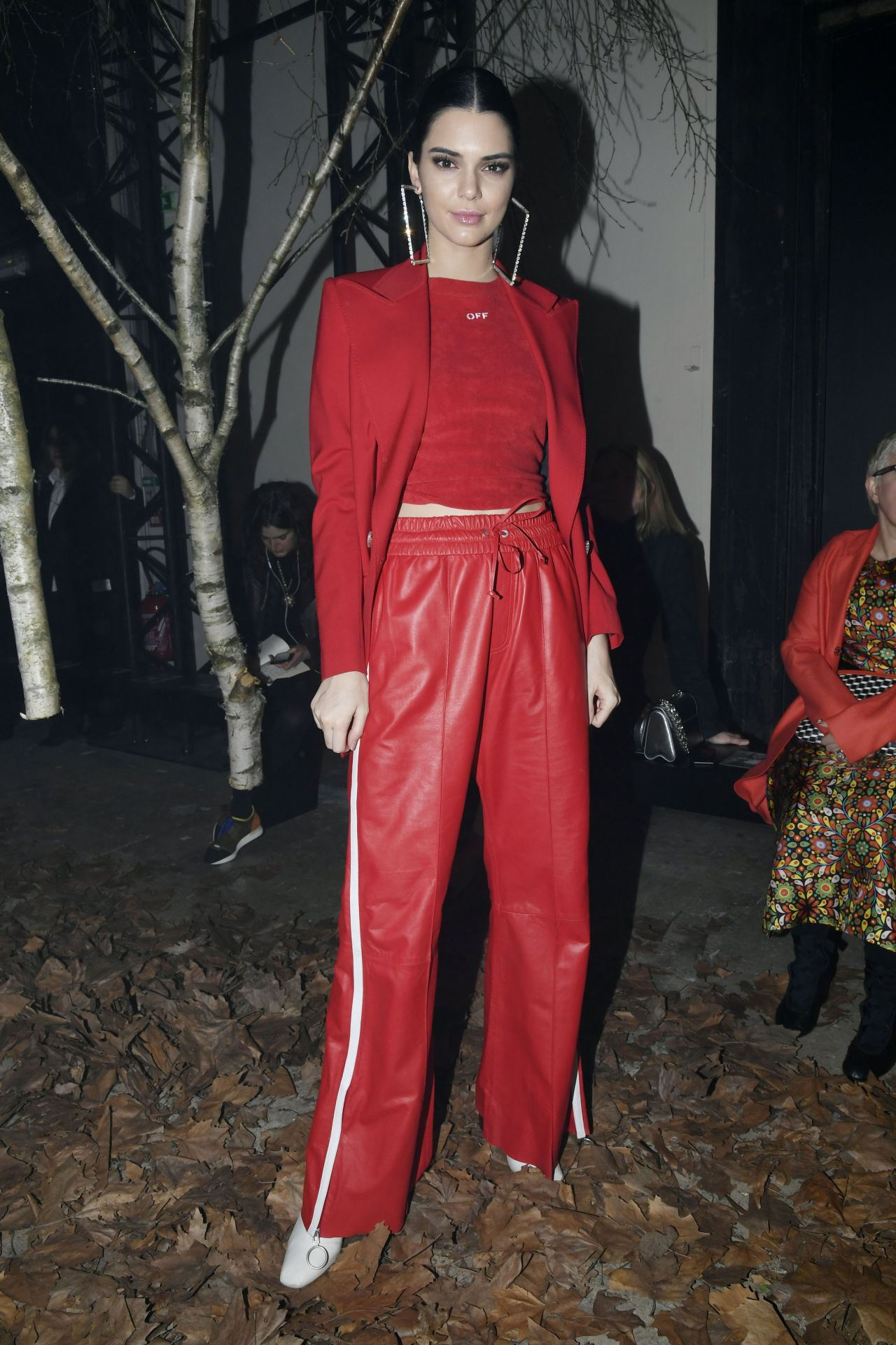 Kendall Jenner Off White Show As Part Of The Paris