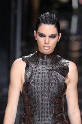 Kendall Jenner Walks Balmain Show at Paris Fashion Week 3/2/ 2017