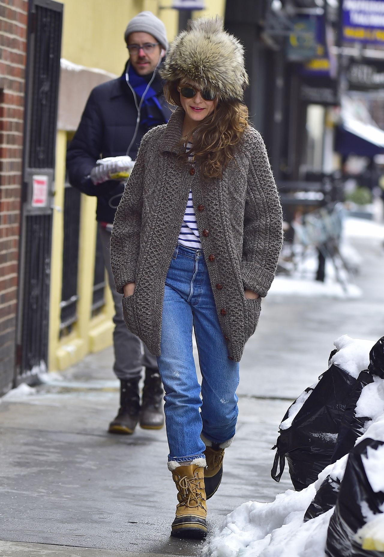 Keri russell winter in nyc - 2019 year