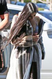 Kim Kardashian - Arrives to the Studio in Van Nuys 3/8/ 2017