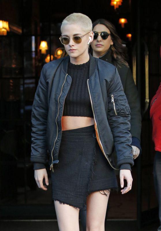 Kisten Stewart Outfit Ideas - Soho in New York City 3/9/ 2017